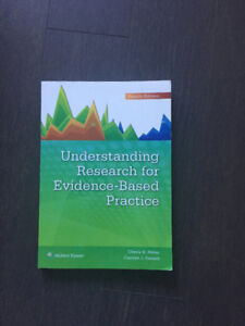 Understanding Research for Evidence-based Practice . $40