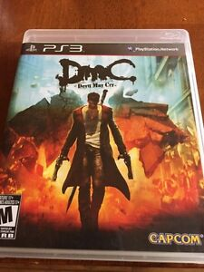 PS3 game - Devil May Cry