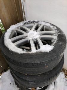 Roue wheel mag jante rim VW Volkswagen audi pneu tire 16 pouce