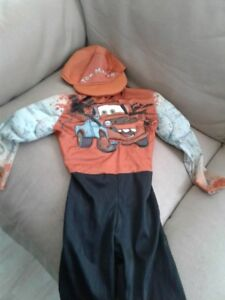 Tow Mater from Cars Movie costume would fit 1- 3 year old