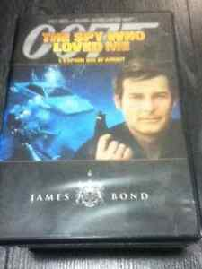 James Bond The Spy who Loved Me DVD