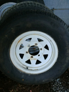 6 bolt trailer rims