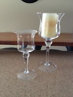 Large Candle holders (set of 2)
