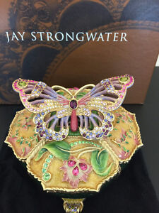 Jay Strongwater Butterfly Box