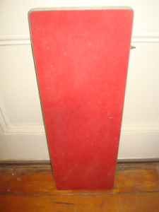 1950's Retro Red Table Divider