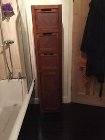 Large bathroom storage cupboard