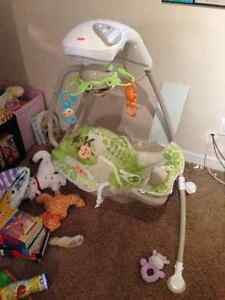 Barely used Fisher Price baby swing
