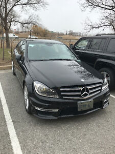 2013 MERCEDES-BENZ C300 4MATIC AWD SEDAN