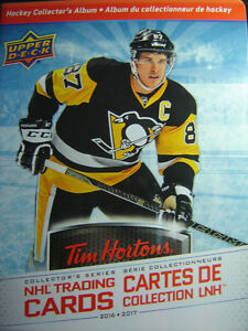 TIM HORTON'S HOCKEY CARDS WANTED TO TRADE OR SELL DOUBLES!