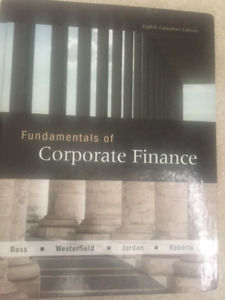 Fundamentals of Corporate Finance : Eight Edition