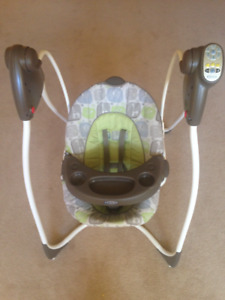Graco electronic swing with music