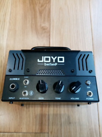Joyo Zombie Valve 20W Head guitar amp, Clean and distortion, Bluetooth