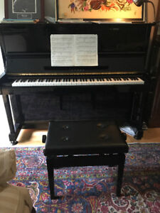 Yamaha SX10RB1 player / disklavier piano with music