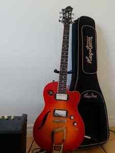 Guitare Hagstrom D2F avec étui Hagstrom Québec City Québec image 1