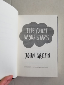 The Fault in Our Stars (John Green) (Perfect condition)