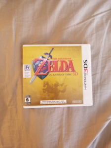 The Legend of Zelda: Ocarina of time 3D  for sale or trade