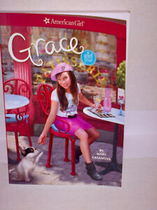 "American Girl AG ""GRACE"" Book by Mary Casanova MINT Condition!"