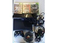 4gb Xbox 360 Kinect 3 games turtle beach headphones