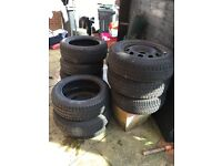 Job lot new and used tyres £10 for all