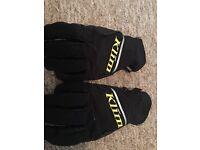 Goretex motorbike gloves