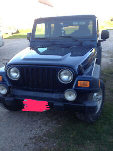 2005 Jeep TJ Coupe (2 door)