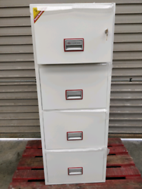Phoenix Fireproof Filing Cabinet 4 Drawer FS2254K