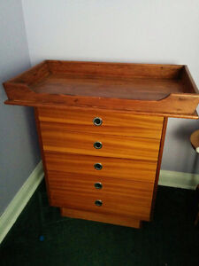 Handmade Solid Wood Changing Table Top Adjustable Kitchener / Waterloo Kitchener Area image 1