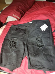 Charlotte russe black bermuda shorts