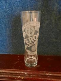 Pint Peroni glasses