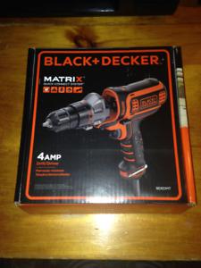 BLACK + DECKER Matrix AC Drill/Driver