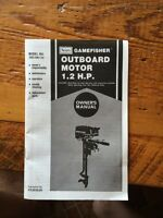 Outboard Motor 1.2 H.P. Never used still in box