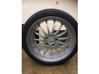 4 X wheels and trims for sale
