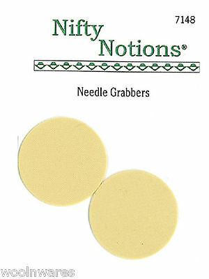 NIFTY NOTIONS NEEDLE GRABBERS {2-pack set} ~ For Wool Applique Work