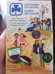 Girl guide cookies are out