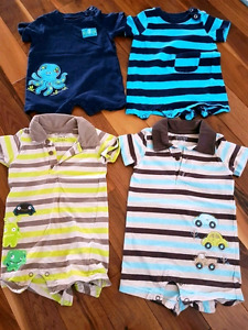 6 and 9 month boys outfits - $10 for all 4