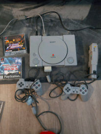 Playstation one x2games x2 controllers