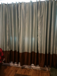 4 curtain panels for sale