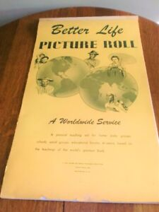 """VINTAGE BIBLE STUDIES """"BETTER LIFE PICTURE ROLL"""""""