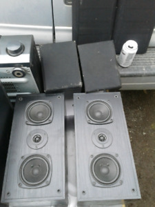 OLDER *KENWOOD HOME STEREO SYSTEM & POWERED SUBWOOFER AVAIL. TOO