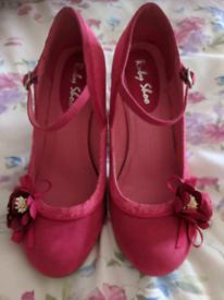 Ruby Shoo Silvia Fuchsia Pink Mary Jane Pumps