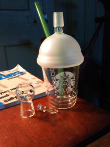 Dabbuccino Cup Concentrate Rig 10in dabs wax oil 420 710 glass