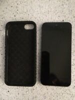 iPhone 5s 16gb with jet case