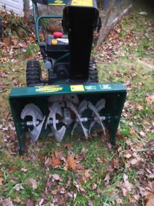 Yardworks 26 inch snowblower