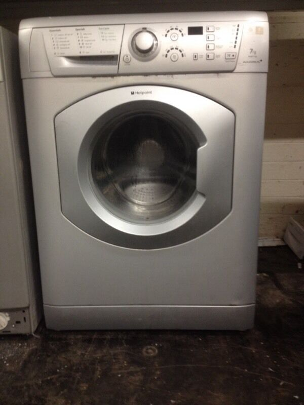 Silver Hotpoint Washing Machine 163 60 In Nottingham