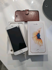 Iphone 6s 64gb gold in immaculate conditon boxed fully working order