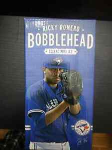 Ricky Romero 24, Bobblehead, # 3 Collectible 2012. New , in box.