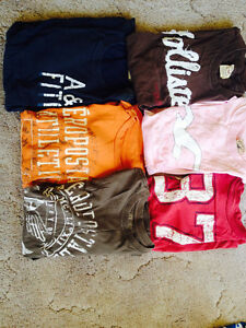 AEROPOSTLE,HOLLISTER,ETC. T-SHIRTS(LOT)