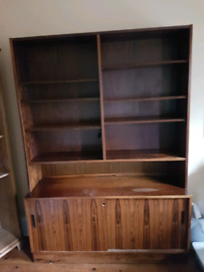 Solid Rosewood Shelving Unit