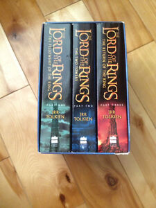 Lord of the rings complete bookset Cambridge Kitchener Area image 1
