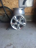 4x 16 inch ford rims with tpms sensors